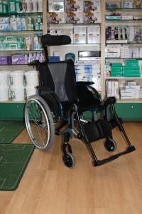 Location de matériel médical : fauteuil roulant